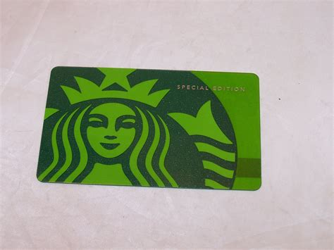 Add Starbucks Gift Card To Gold Card - starbucks gift card special edition green zero balance