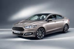 Ford Mondeo Ford Luxes Up Edge Kuga Mondeo S Max With Vignale Makeover