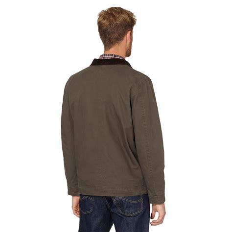 Jaket Harrington Redcalmer Original Brown 1 rjr rocha mens designer brown harrington jacket from