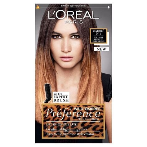 Preference Wild Ombre On Short Hair | preference wild ombr 233 01 hair dye for dark brown hair