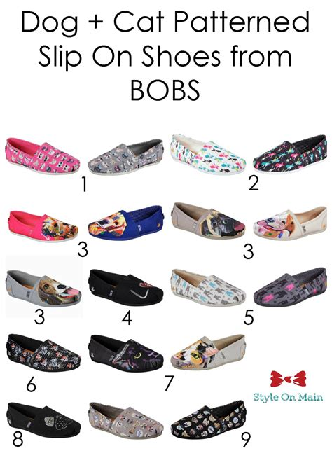 bobs house for dogs adorable dog and cat themed shoes from bobs style on main