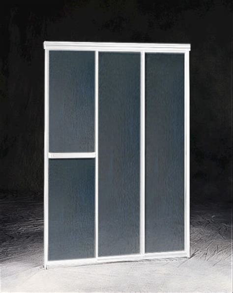 Three Panel Sliding Shower Door Maax 174 Plus 42 5 Quot 3 Panel Sliding Shower Door At Menards 174