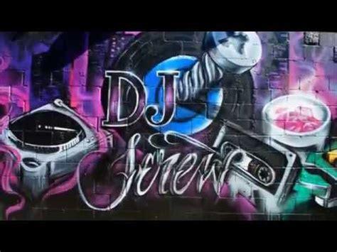 dj screw mural june  screwed  records tapes