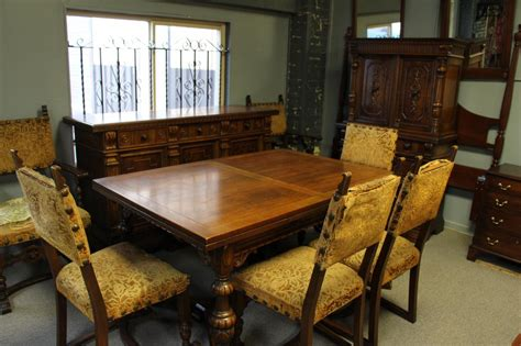 1920 dining room set tonawanda woodworks jacobean dining room set circa 1920 s