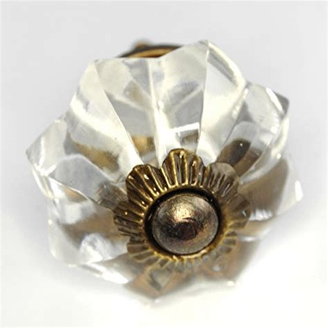 large glass cabinet knobs large clear melon glass cabinet knobs drawer pulls