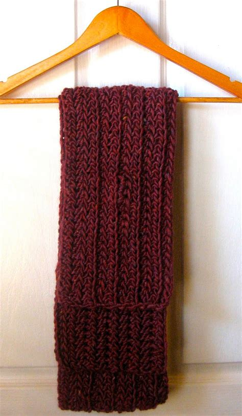 mel p designs free crochet scarf pattern