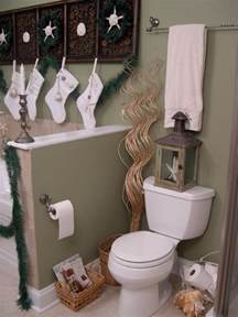 bathroom decorating ideas for christmas decor