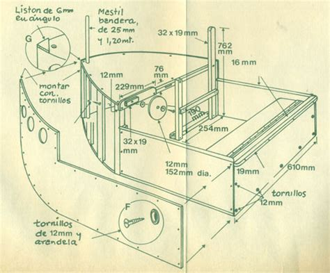 como construir un bote de madera bricolaje 187 hacer barco de madera
