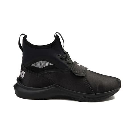 all black womens athletic shoes womens phenom athletic shoe black 361767