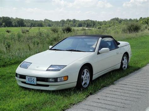 how to sell used cars 1994 nissan 300zx user handbook find used 1994 nissan 300zx base convertible 2 door 3 0l glacier white black top automatic in