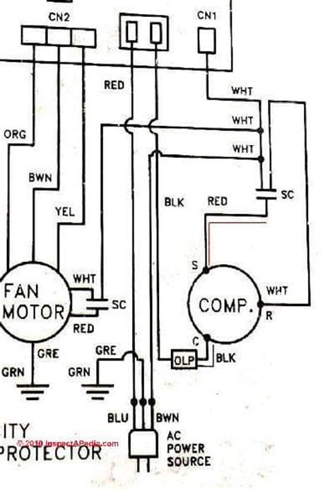 ac motor with capacitor wiring diagram electric motor capacitor test procedures