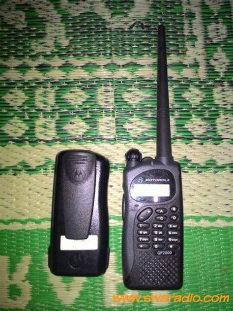 Antena Motorola Vhf Gp 2000 dijual gp 2000 vhf swaradio