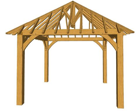 12x12 Hip Roof Plans 12x12 Square Gazebo Roof Plans Pictures To Pin On
