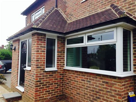 Front Door Extensions Front Extension And Porch Farncome Nr Godalming Savage Brothers Building Services