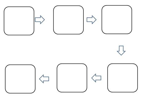 blank flow chart template best photos of template of flow