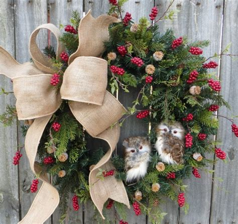 How To Make A Xmas Wreath For Front Door
