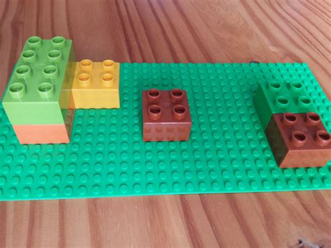 lego duplo table with storage diy