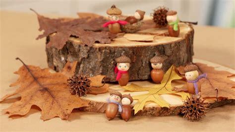 handmade acorn people  crafts  tos  ideas