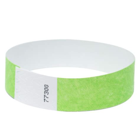 How To Make Paper Wristbands - wristbands 100 packs by freshtix ticket printing