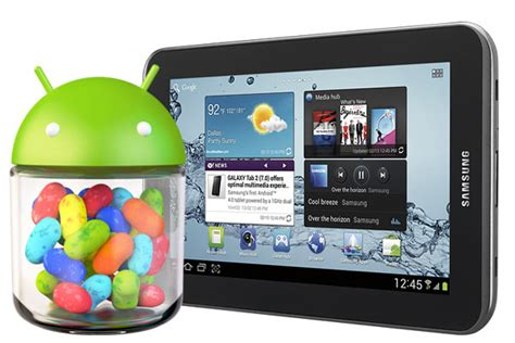 Samsung Tab Jelly Bean jelly bean update rolling out to wifi galaxy tab 2 7 0 and
