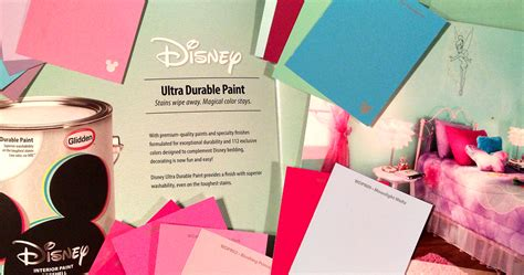 disney paint by glidden at walmart spoonful of imagination