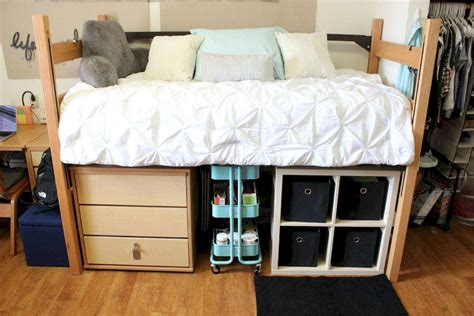 college dorm bed 80 cute diy dorm room decorating ideas on a budget