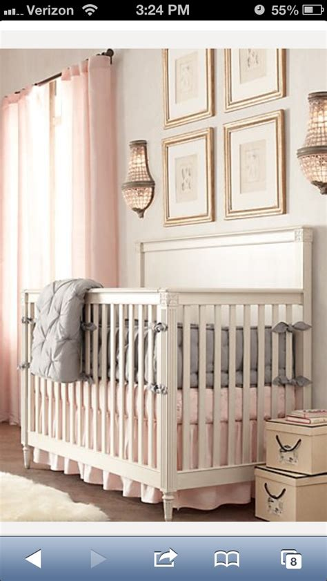 Light Grey Crib 25 Best Ideas About Nursery On Baby
