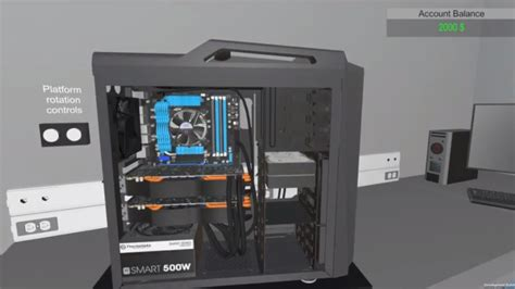 build a house simulator pc building simulator is helping us build a high end gaming rig