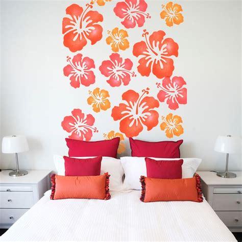 cornici stencil applicare lo stencil per pareti le pareti applicare