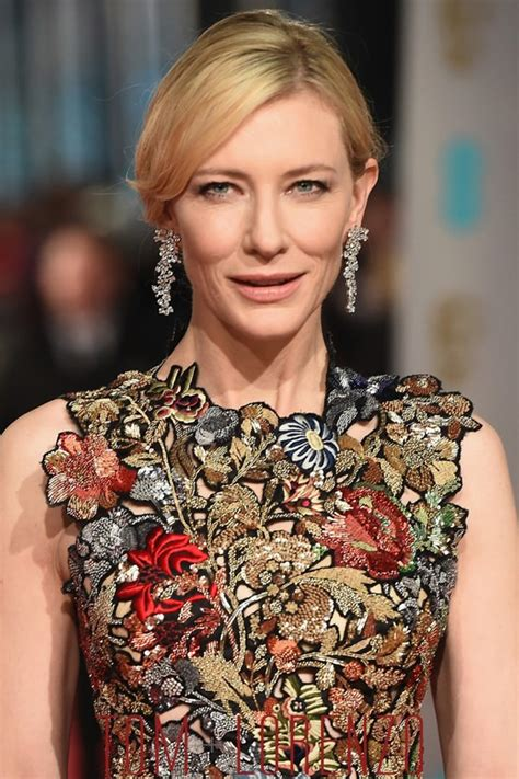 Catwalk To Carpet Cate Blanchett by Baftas 2016 Cate Blanchett In Mcqueen Tom