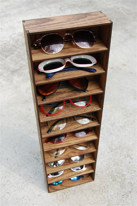 Sunglass Holder Rack For Home by 10ct Sunglasses Organizer Display Rack Stand Box Drawer
