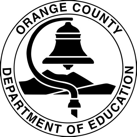 orange county department  education logos