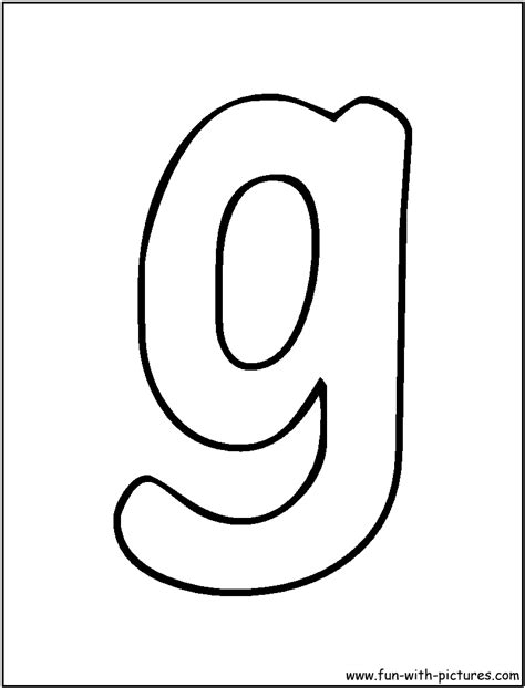 lowercase letter g coloring page free coloring pages of bubble lower case g