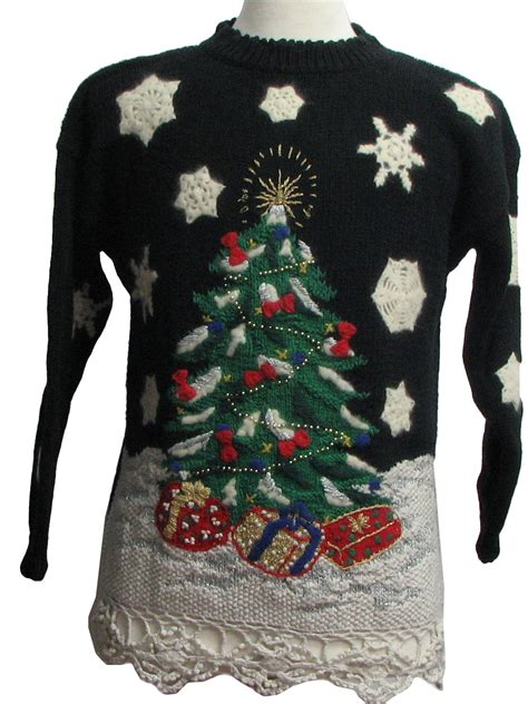 womens soon to be prize winning ugly christmas sweater