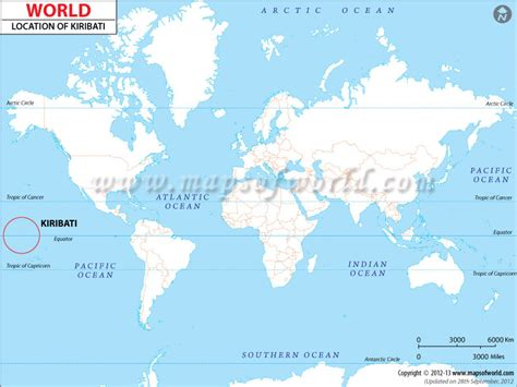 location of samoa on world map where is kiribati location of kiribati