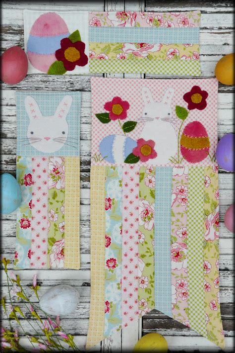 vintage easter pattern a vintage easter mini quilts pattern 370 shirley hudson