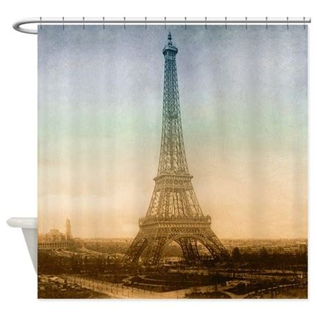eiffel tower shower curtain the eiffel tower in paris shower curtain by vintagelove1