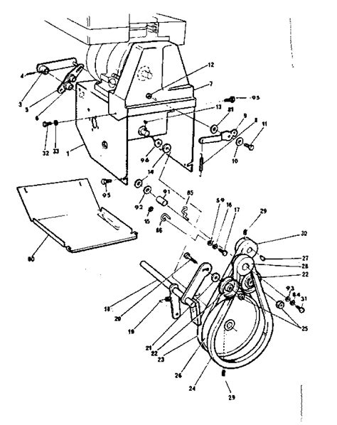 craftsman snowblower parts diagram craftsman snowblower parts wiring diagrams wiring