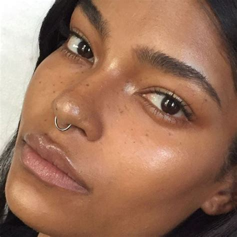 tattoo freckles dark skin trend to try faux freckles people magazine