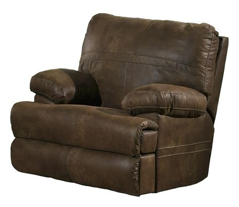 fabric covered recliners ranger manual glider recliner in chocolate fabric cover by