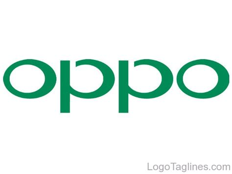 kaos oppo smartphone logo oppo logo and tagline