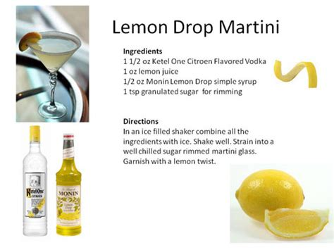 lemon drop martini mix image gallery lemon drop drink recipe
