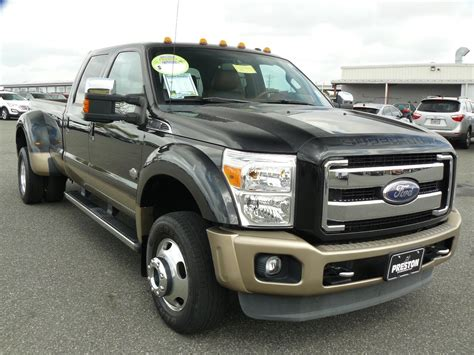 Used 2011 Ford F450 Diesel V8 Crew Cab 4WD King Ranch for
