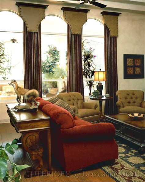 Traditional Window Treatments Living Room by Window Treatment Ideas