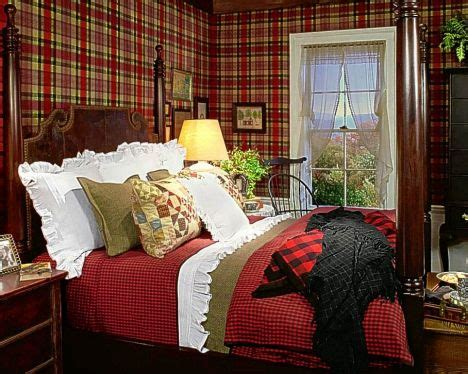 Scottish Baronial Style Interiors by Witty And A Bit Tartans And Checks Weave Their Way
