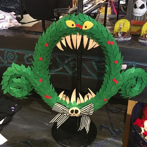 disney nightmare before christmas wreath popsugar home