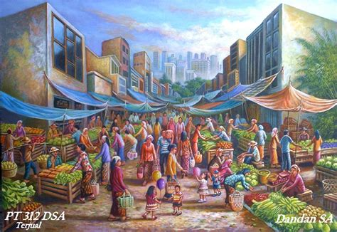 paintings by dandan sa web lukisan indah