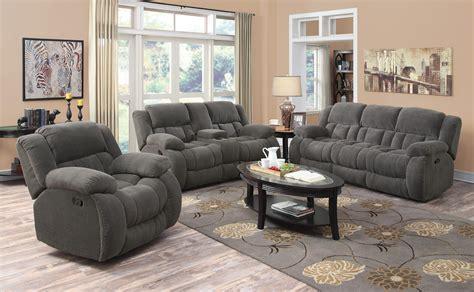 weissman casual pillow padded reclining sofa love seat
