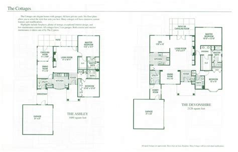cottage floor plans independent living homes cottages nc high end