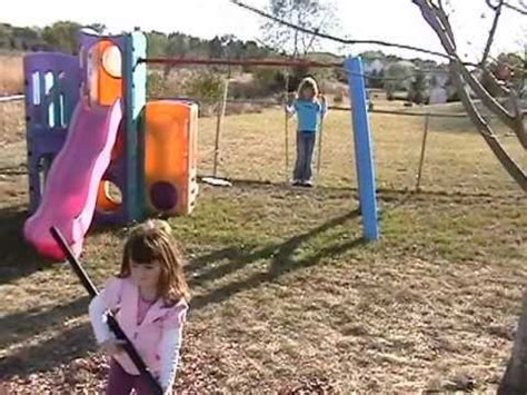 swing and hit kid gets hit in the face by swing youtube